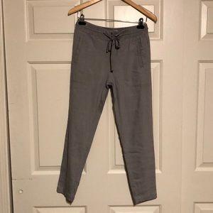 Like New!! Lou & Grey Linen blend pants xs